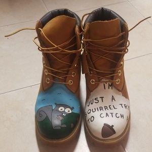 Men's/ Women's Custom Timberland Boots 8